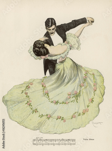 Photo Valse Bleue. Date: 1908