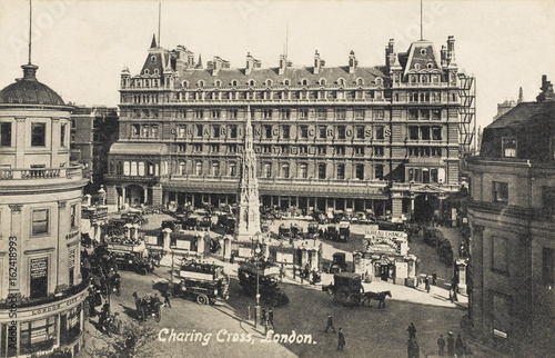 Charing X Station (Aerial). Date: circa 1910 фототапет