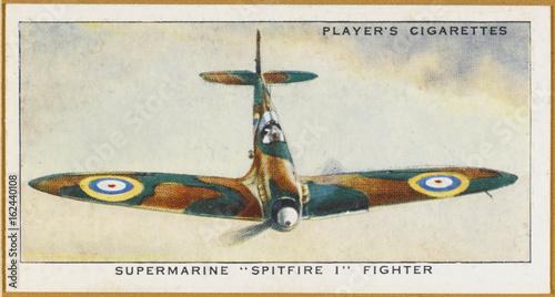 Photo Spitfire Colour Photo. Date: 1939