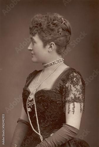 Fotografia Beaded Bodice 1891. Date: 1891
