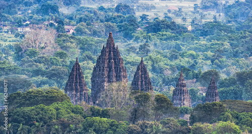 Obraz na płótnie Beauty Prambanan Temple