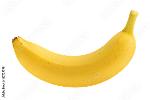 Fotografía Banana isolated without shadow
