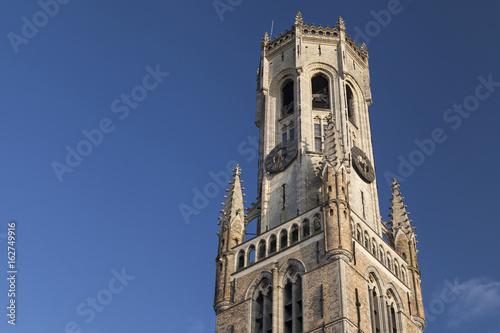 Vászonkép Top of the Belfry of Bruges