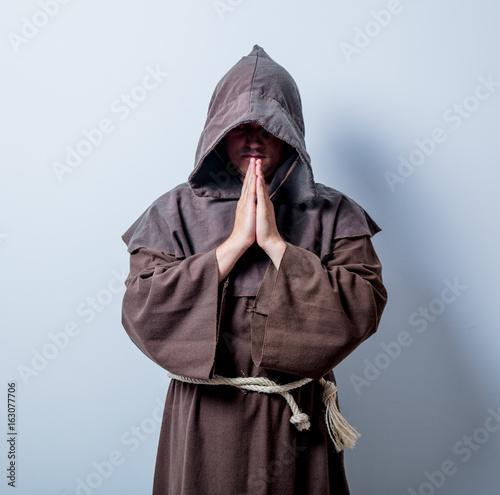 Valokuva Portrait of Young catholic monk