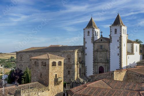 ciudades medievales de España, Cáceres en la comunidad de Extremadura