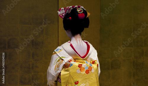 Fotografie, Tablou Unidentified japanese geisha
