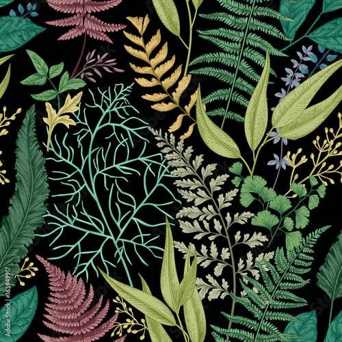 Foto Floral seamless pattern.