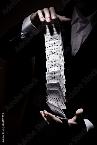 Photographie Kartenspiel
