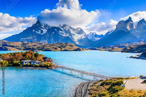 Torres Del Paine National Park, Chile. Fototapet