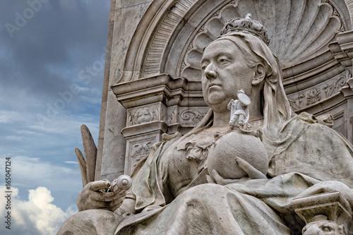 Fotografie, Obraz queen victoria monument london detail