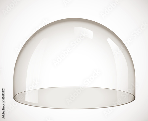 Leinwand Poster Glass dome