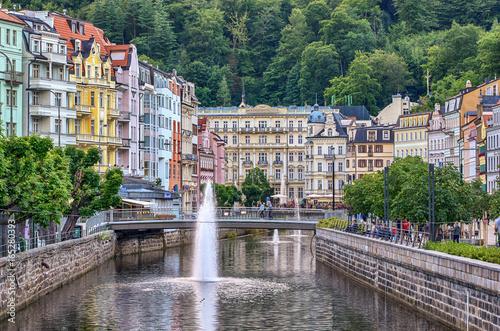 Stampa su Tela Karlovy Vary - Karlsbad