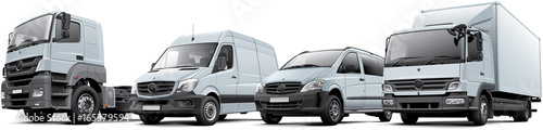 Fotografia Commercial Vehicles Set
