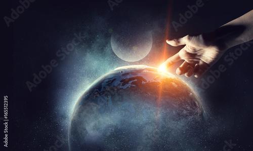 Fotografia Concept of creation