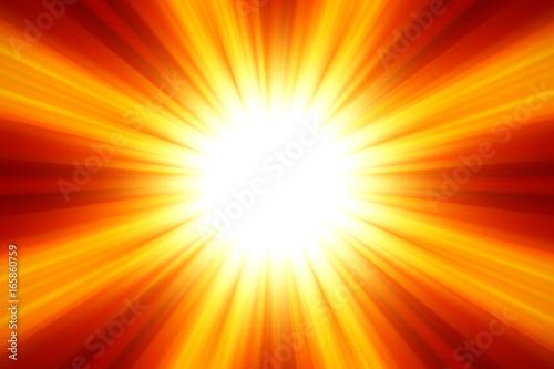 Esplosione di luce abbagliante