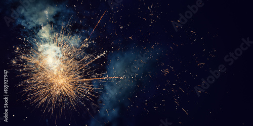 Fireworks with Copy Space