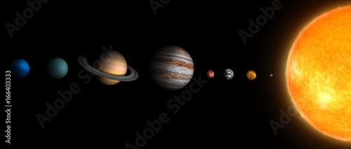 solar system  3В