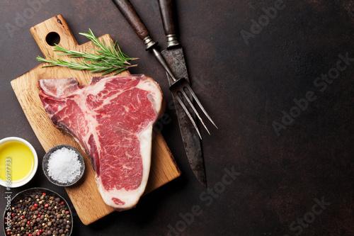 Wallpaper Mural T-bone steak