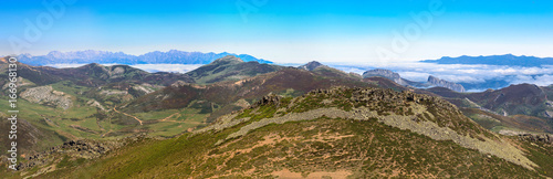 Mountain Palentina and Europa peaks montaint. Spain