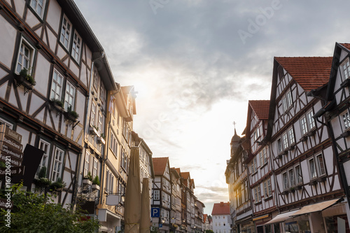 eschwege historic city hesse germany