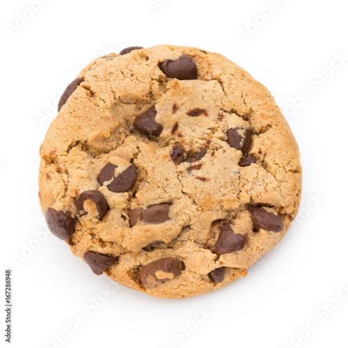Photo Chocolate chip cookie.