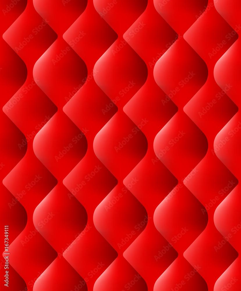 czerwona pikowana powierzchnia <span>plik: #167349111 | autor: berezovskyi</span>