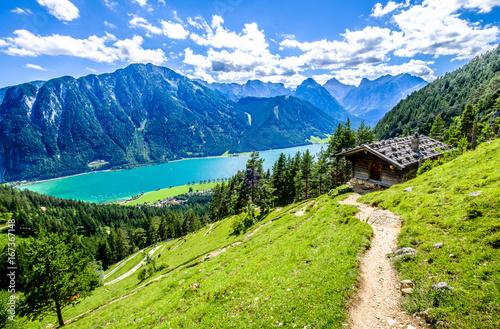 Canvas Print achensee lake in austria