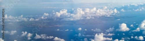 Stampa su Tela Panorama of the Length of the Isle of Man