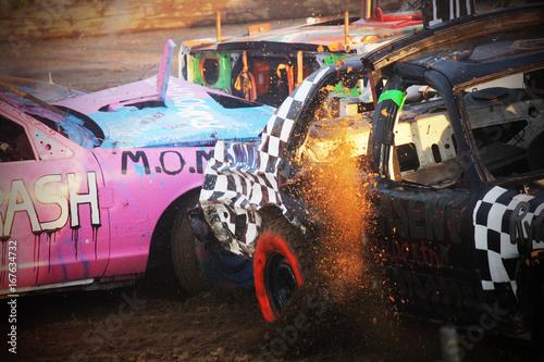 Demolition Derby 5 Tapéta, Fotótapéta
