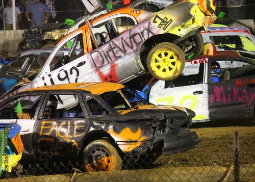 Fotomural Demolition Derby Smash