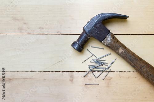Obraz na plátne Hammer and Nails