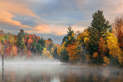 Lake Autumn Foliage