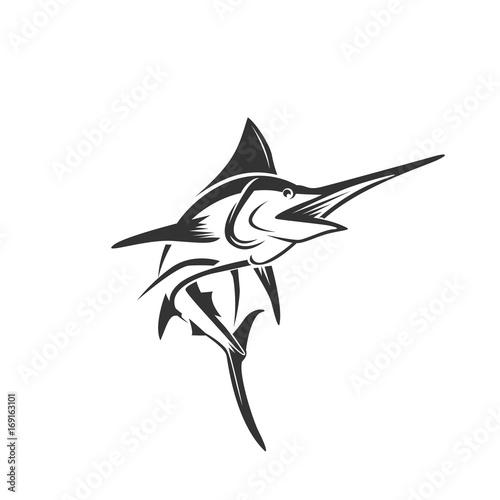 Fotografia marlin fish art