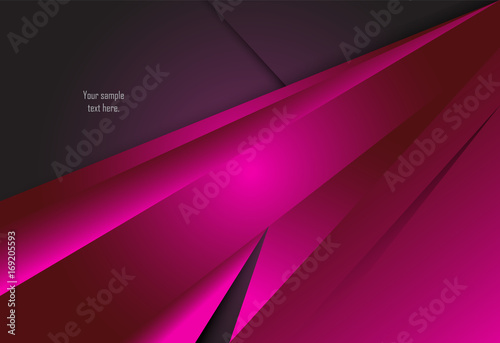 Fotografia Pink abstract material design for background, card, annual business report, broc