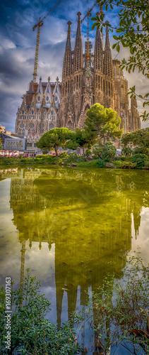 Tableau sur Toile Sagrada Familia