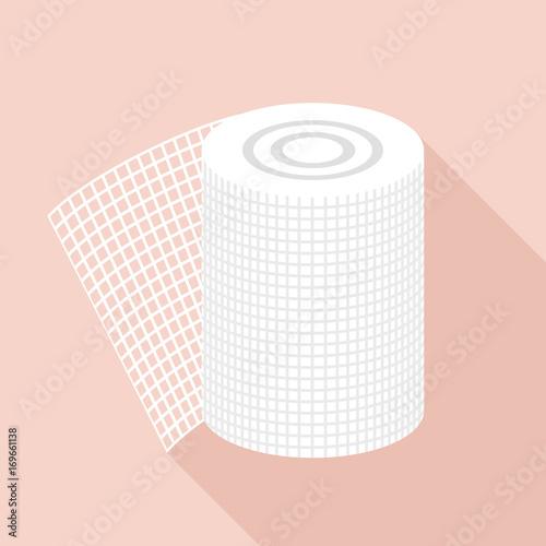Foto Bandage icon, flat style