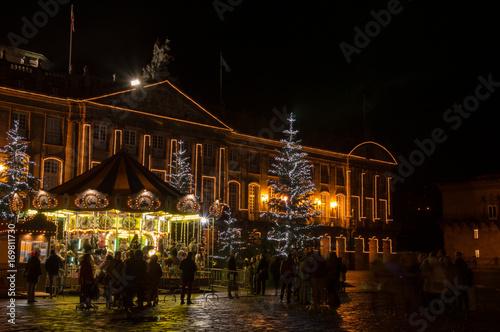 Fotografía Christmas decoration in Santiago de Compostela
