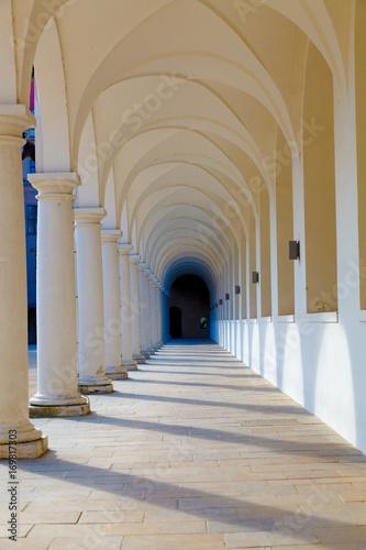 Obraz na płótnie Arcade, Colonnade gallery