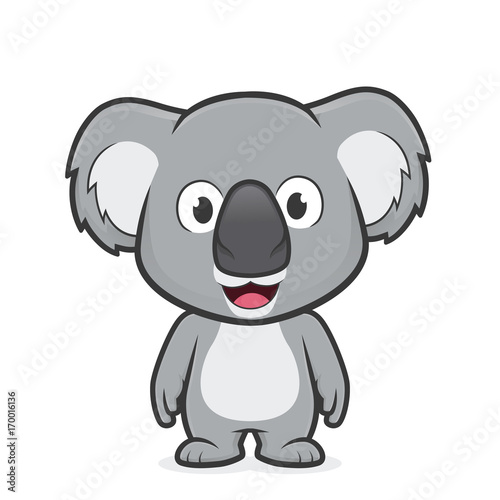 Fototapeta premium Stojący Koala