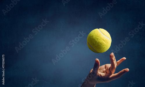 Photo Big tennis concept