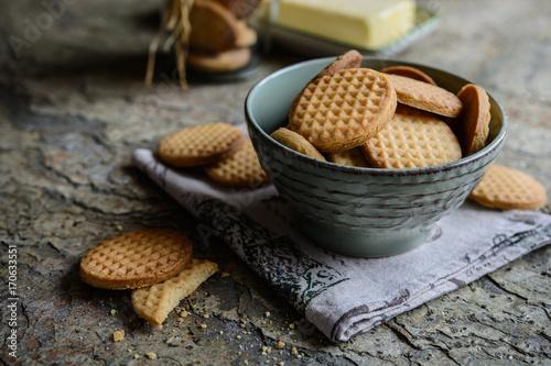 Carta da parati Fresh vanilla butter biscuits