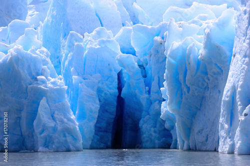 Carta da parati Grey Glacier Patagonia