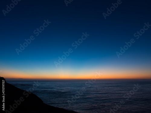 夜明けの水平線 Fototapeta