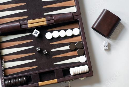Fotografia Backgammon Game