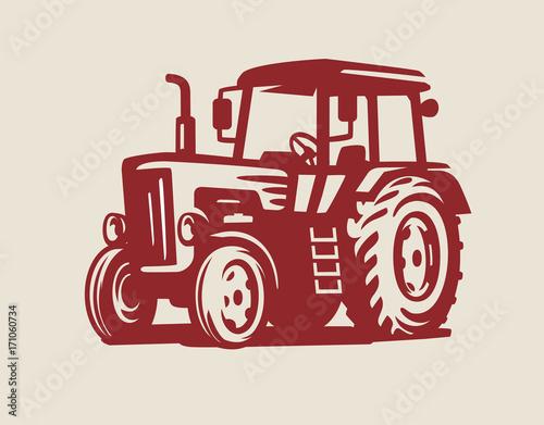 Photo vector Tractor symbol
