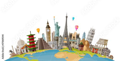 Obraz na plátně Travel, journey concept