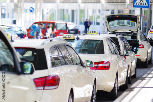 Obraz na plátně Taxi