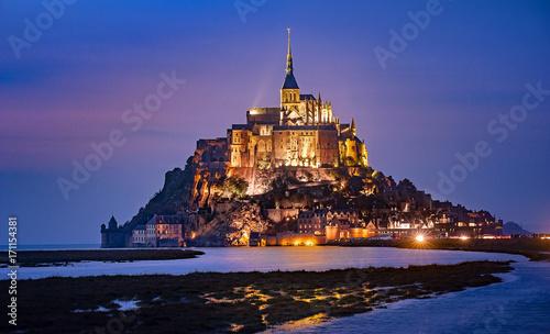 Canvas Print Mont saint Michel
