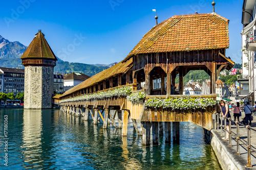 Carta da parati Lucerne in Switzerland