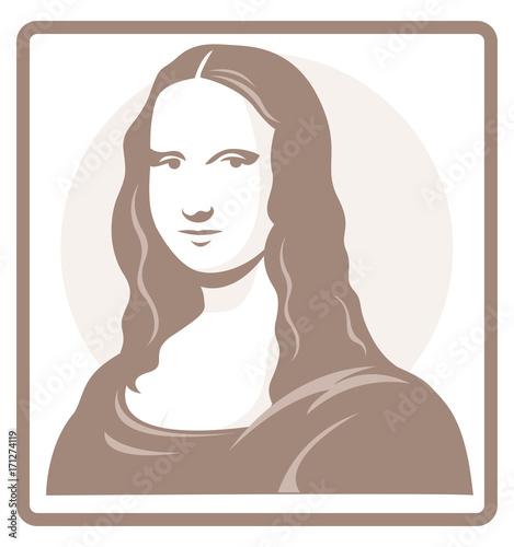 Fotografie, Tablou Mona Lisa